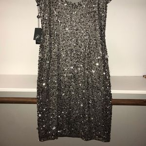 Brand new sequined Adrianna Papell Dress!